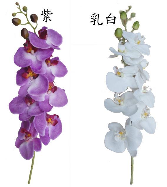 42吋 大蝴蝶蘭-紫 / 人造花 空間 景觀 佈置 造景