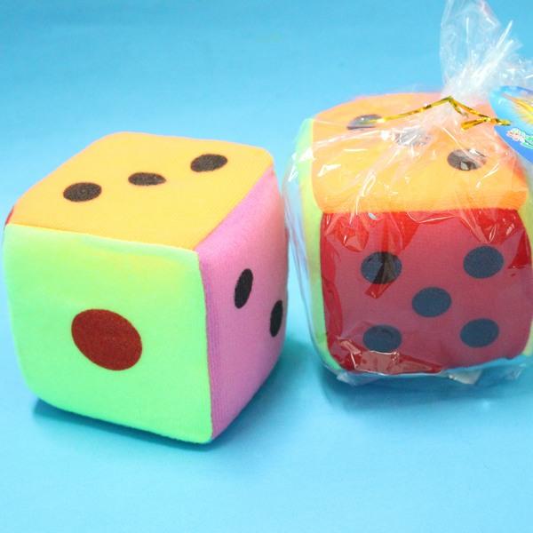 安全骰子 大海綿骰子 6吋骰子 15.5cm x 15.5cm/一個入{定100}~CF61316