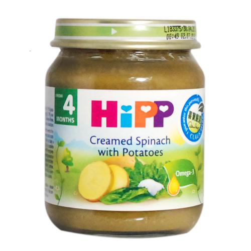 HiPP喜寶 天然馬鈴薯菠菜泥