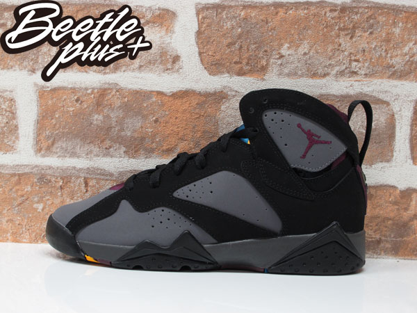 BEETLE NIKE AIR JORDAN 7 RETRO BG GS BORDEAUX 喬丹 七代 黑灰 波爾多 304774-034