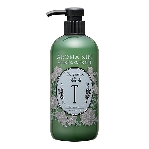 《日本製》AROMA KIFI 植粹滑順護髮乳-橙花香 500ml【無矽靈】