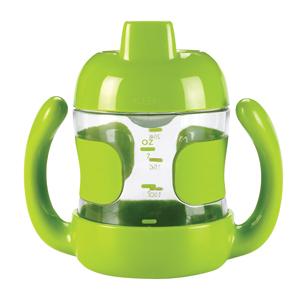 美國 OXO O 兒童水杯 幼童喝水訓練杯 鴨嘴杯 200ml 綠色 *夏日微風*