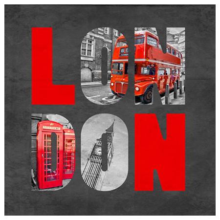 布質壁畫 LONDON 3636