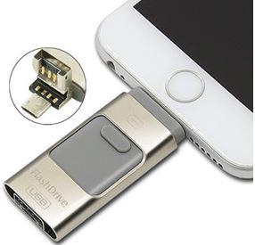 三合一高速蘋果(Ios)安卓(Android)手機電腦三用隨身碟 64G大容量 990元