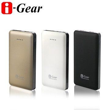 i-Gear MDBP-025 皮革質感 i-Go 10000行動電源