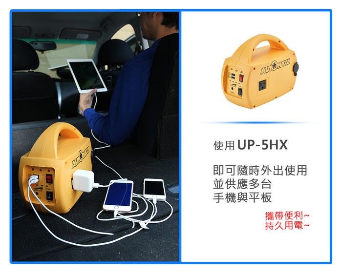 AUTOMAXX★UP-5HX DC/AC專業級手提式行動電源旗艦版圖