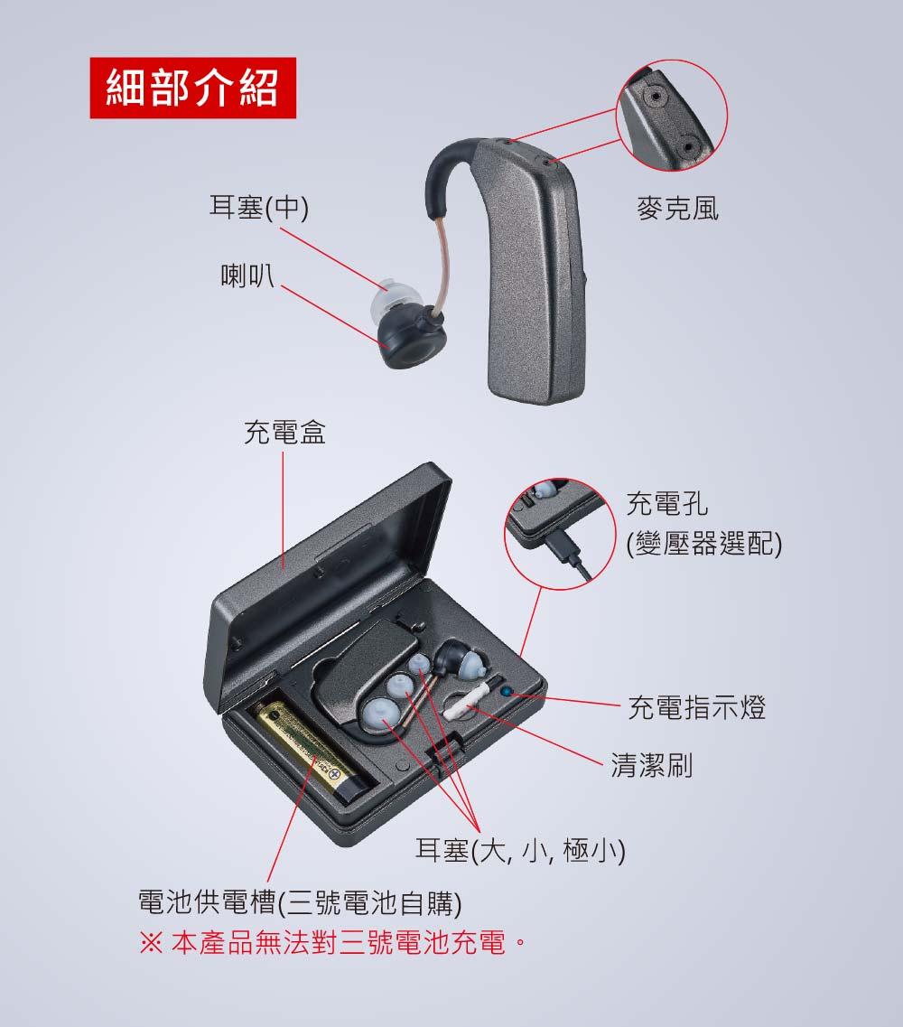 耳寶,R2,補助資訊,助聽器
