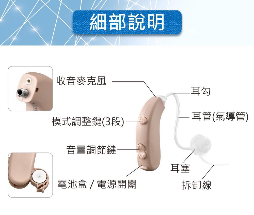 耳寶,6K5A,補助資訊,助聽器