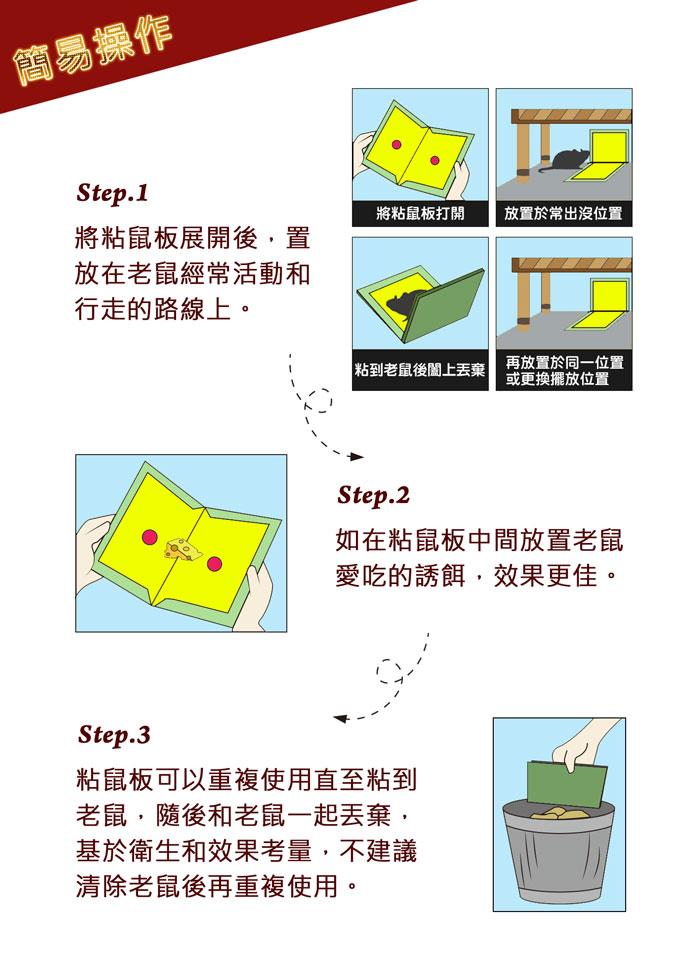 威力叔叔UWL-099 折疊式變形黏鼠板 鼠害 驅鼠 黏鼠 黏鼠板 防範老鼠 避免鼠患