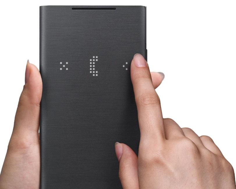 無需碰觸螢幕-只需碰觸皮套蓋-就可操控手機。便利的觸控互動設計,輕鬆操控音樂和來電。