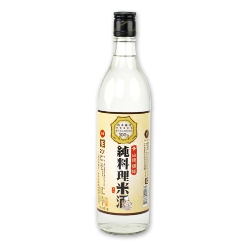 青山總鋪師純料理米酒