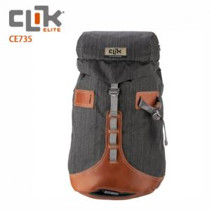 【CLIK ELITE】美國戶外攝影品牌 悠閒者雙肩攝影後背包Klettern CE735 灰色