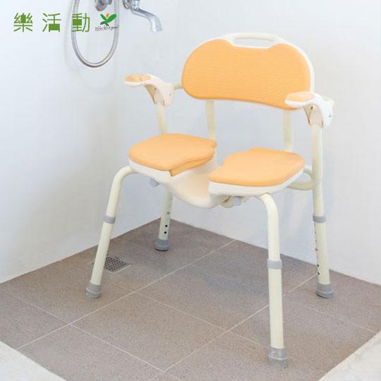 【樂活動】日式洗臀專用洗澡椅★浴室防跌輔具。坐著洗更安全