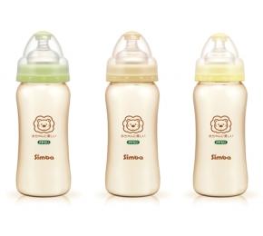 台灣【Simba 小獅王】 PPSU寬口奶瓶(360ml)