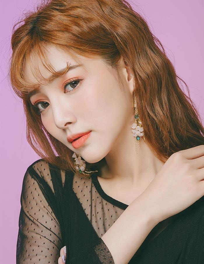 韓國耳環,夾式耳環,耳夾,螺旋夾耳環,垂墜耳環,古裝劇耳環,復古耳環,華麗耳環