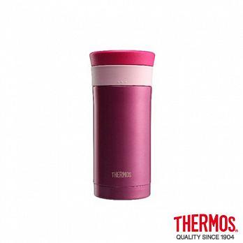 【小資屋】THERMOS 膳魔師不銹鋼真空保溫杯 0.35L(JMK-351-P)P(粉紅色)