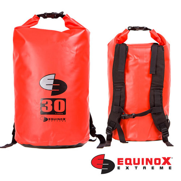 【鄉野情戶外用品店】 EQUINOX |美國| 雙肩防水袋背包/防水包 溯溪包 泛舟-紅/131125 【容量30L】