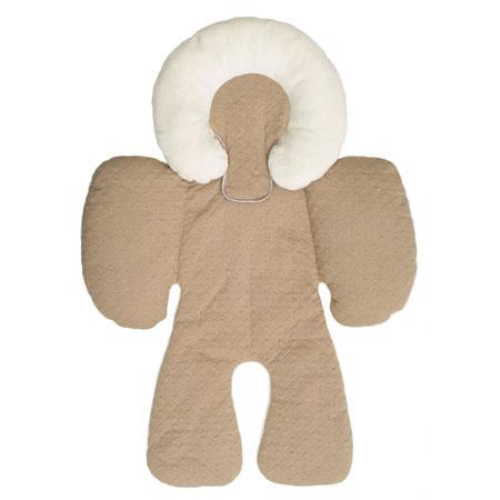 【悅兒園婦幼生活?】美國 JJ Cole 身體支撐墊-Khaki 卡其色