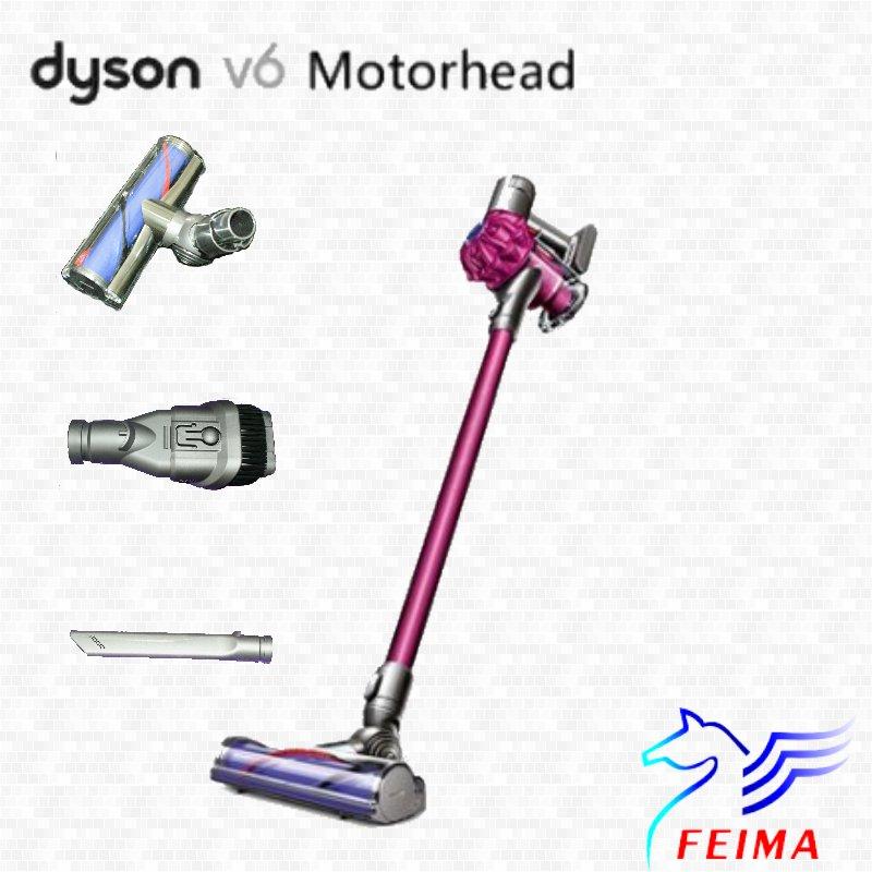Dyson V6 motorhead 手持無線吸塵器 (SV09 SV07 DC74 )內含3吸頭 (同台灣戴森)