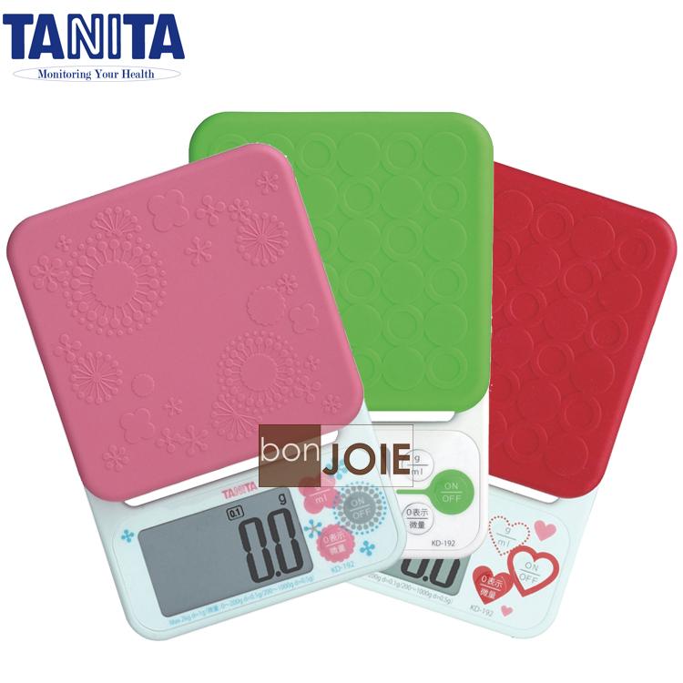 ::bonJOIE:: 日本進口 境內版 TANITA KD-192 料理電子秤 KD192 (全新盒裝) 最大秤重 2kg 、最小刻度 0.1g
