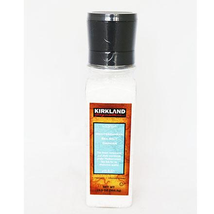 【敵富朗超巿】Kirkland Signature科克蘭研磨地中海海鹽