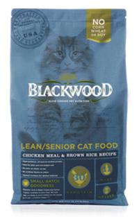 WDJ推薦 Blackwood 柏萊富天然寵糧 特調成貓低卡配方(雞肉+糙米) 13.23LB/13.23磅/6KG