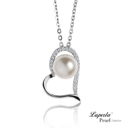 大東山珠寶 純銀晶鑽珍珠項鍊 唯愛珍心 星座愛情 部落客推薦