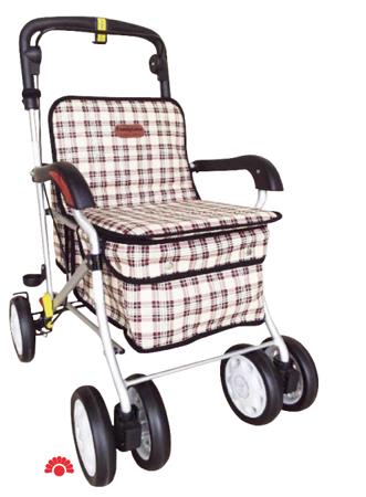 【銀元氣屋】銀髮健步車 F238