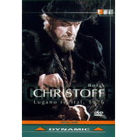 柏里斯克里斯多夫:盧加諾演唱會 Boris Christoff: Lugano Recital, 1976 (DVD)【Dynamic】