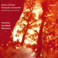 安雅.萊希納/法蘭西斯.考圖里爾:琴聲如訴 Anja Lechner / Francois Couturier: Moderato cantabile (CD) 【ECM】
