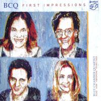 藍教堂四重奏:第一印象 Blue Chamber Quartet: First Impressions (SACD) 【Stockfisch】