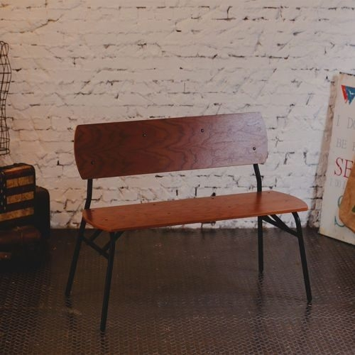 《AccessCo》工業風休閒復古雙人椅