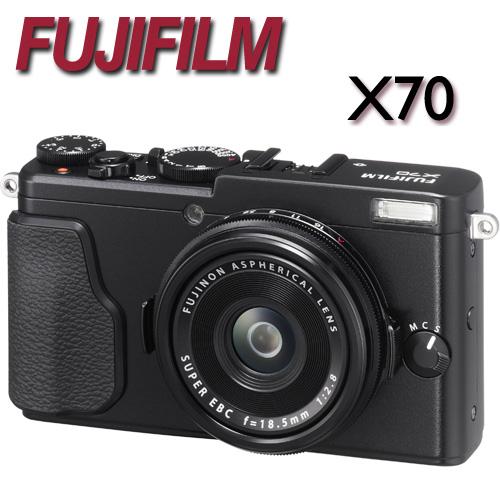 【送副電(含盒內原電共2)+清潔組】FUJIFILM X70 數位相機【平輸中文】ATM/黑貓貨到付款 加碼送32G記憶卡