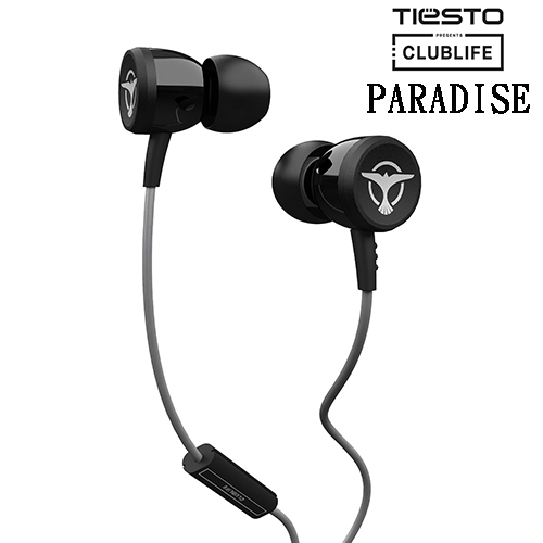 Clublife by Tiesto PARADISE (黑色) 耳道式耳機