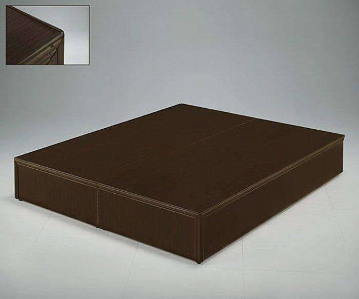 【尚品傢俱】☆特別優惠☆ 637-04 胡桃色5尺床底箱(3分)~另有3.5尺、6尺床底箱~六色可選,可做木心板
