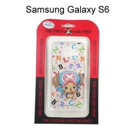 海賊王透明軟殼 [字母] 喬巴 Samsung G9200 Galaxy S6 航海王保護殼【正版授權】
