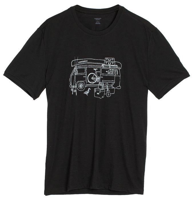 【鄉野情戶外用品店】 Icebreaker |紐西蘭| Tech Lite 露營車圓領短袖上衣 男款/羊毛排汗衣/IB103279