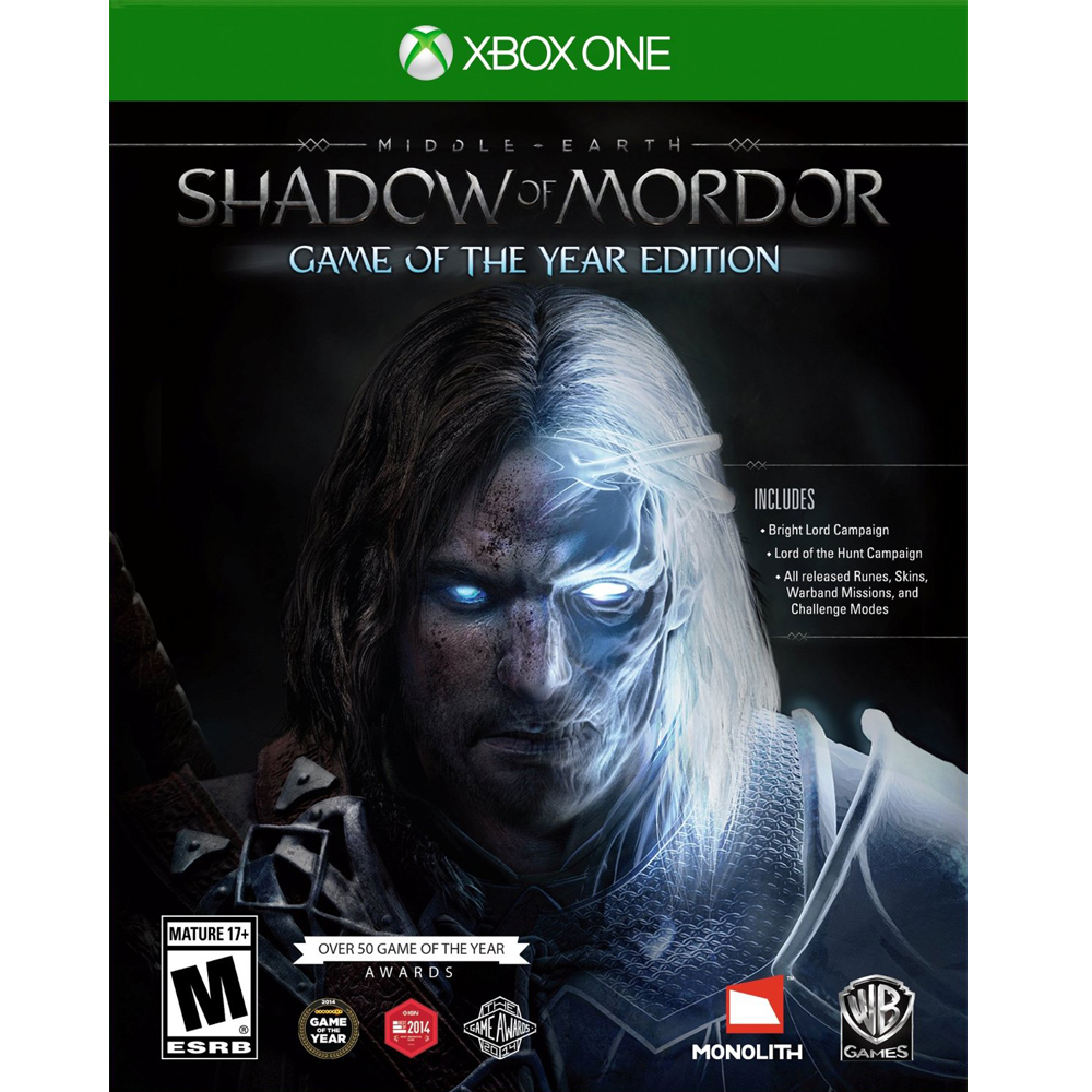 XBOX ONE 中土世界:魔多之影 年度完整版 英文美版 Middle-earth Shadow