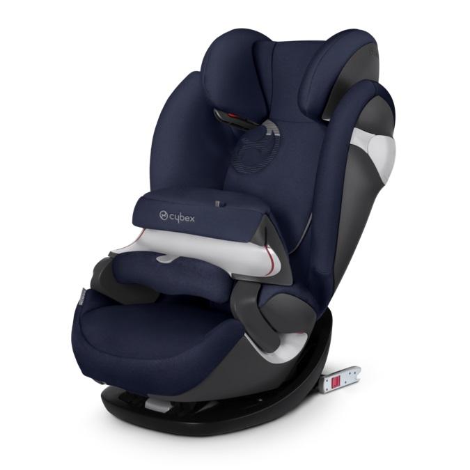 德國【Cybex】Pallas M-FIX 汽車安全座椅 (9個月~12歲) -深藍色