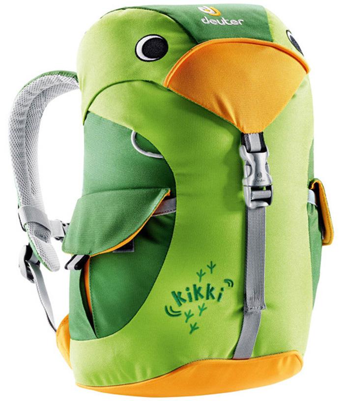 【鄉野情戶外專業】 Deuter |德國| kikki 6L登山露營旅行/兒童雙肩背包/幼兒背包/兒童包 綠/淺綠 36093