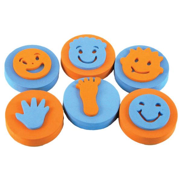 【華森葳兒童教玩具】美育教具系列-微笑手腳印 L1-AT/664/PPF