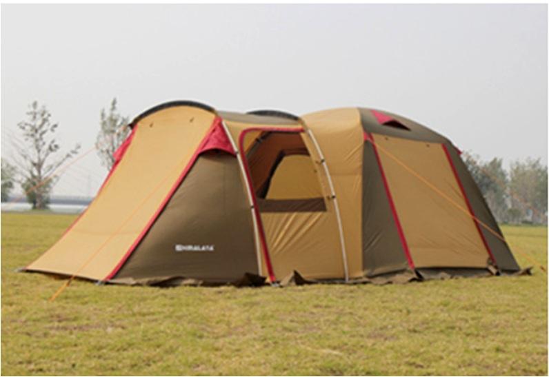 喜馬拉雅~雅居 一室一廳 4~6人帳 雙層帳 帳篷 鋁合金桿 露營 戶外休閒 快速搭建 防大雨