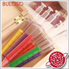 《不囉唆》【Y251389】(不挑色) 韓國文具 6色小針管螢光筆 造型辦公螢光標記/塗鴉筆