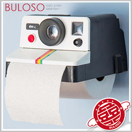 《不囉唆》復古相機捲紙巾筒 拍立得/造型/面紙盒/抽取式/捲筒/kuso/創意(不挑色/款)【A294102】
