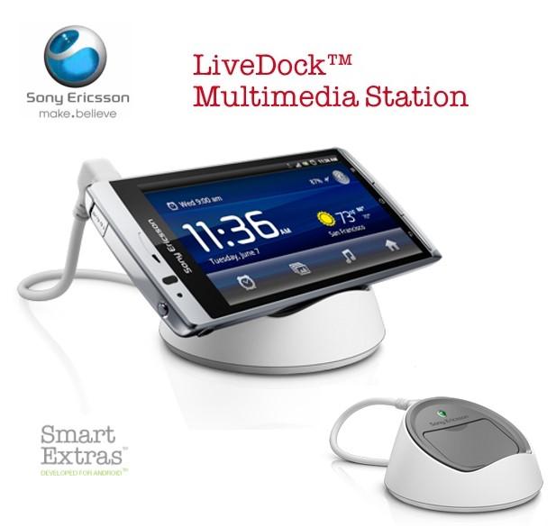 SonyEricsson DK-10/DK10 LiveDuck Multimedia Duck 原廠多媒體充電座~神腦吊卡裝~Live Walkman/WT19i/Active ST17i/ARC ..