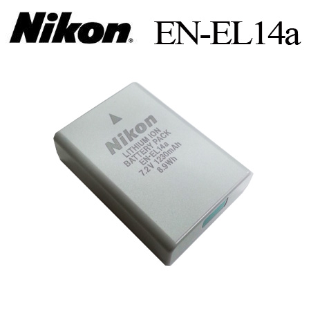 【PC-BOX】Nikon EN-EL14a原廠數位相機電池for:Nikon P7000,P7100,D3100,D3200,D5100,D5200,P7700,DSLR Df,P7800,D530..