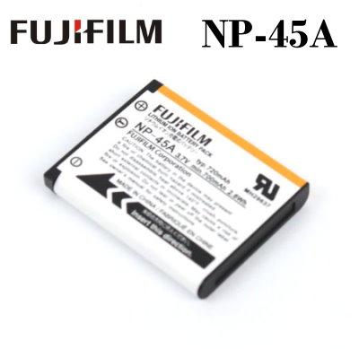 【現貨供應】FujiFilm NP-45A / NP-45 原廠數位相機電池~3.7V 720mAh