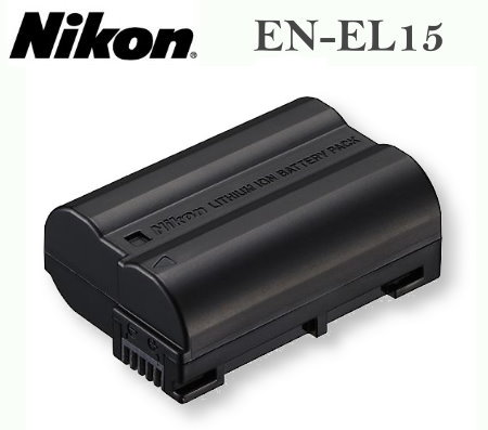 【現貨供應】Nikon EN-EL15 ENEL15 原廠數位相機電池for:Nikon D600 D800 D7000 D7100 V1