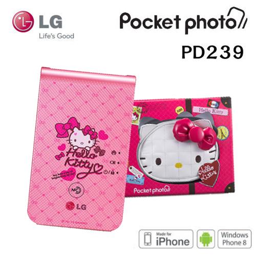 【尾牙好禮】【凱蒂貓限量版】LG PD239 / PD-239 LG Pocket photo 3.0 Hello Kitty 口袋相印機 支援NFC/藍牙/快速列印~迷你相片印表機 ~神腦公司貨(含..
