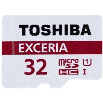 東芝 TOSHIBA【48MB】32GB EXCERIA microSDHC UHS-I Class 10 記憶卡
